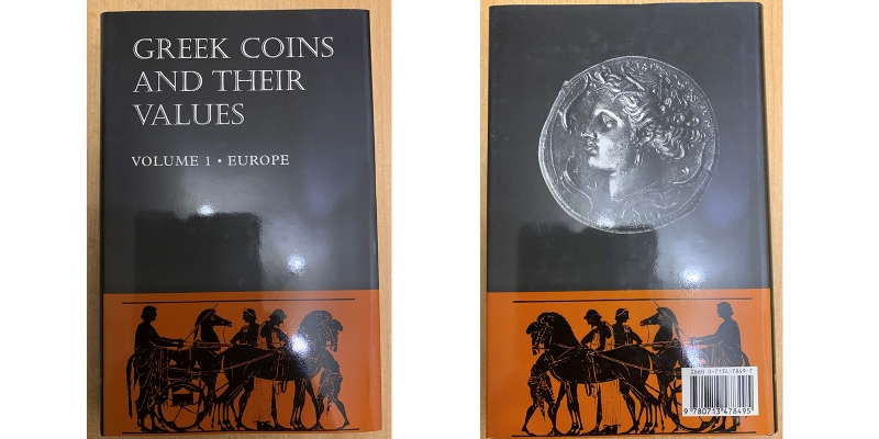 Sear Greek coins and their Values Vol. 1 Europe