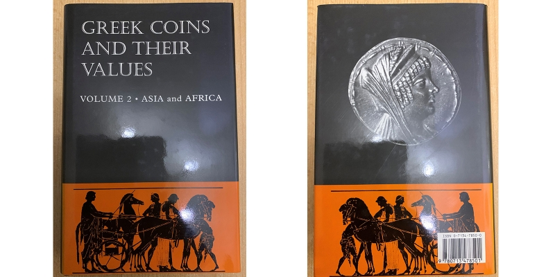 Sear Greek coins and their Values Vol. 2 Asia and Africa