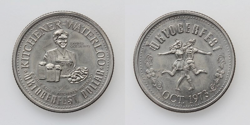Bayern München Oktoberfest Dollar 1973 Kitchener-Waterloo