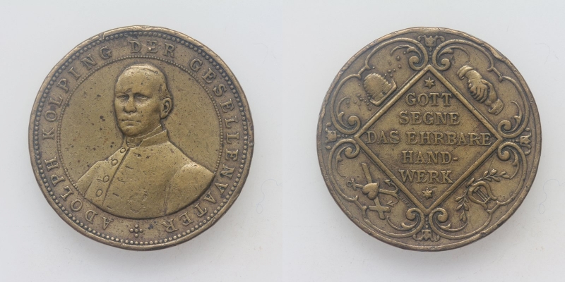AE-Medaille Adolph Kolping 1813-1865 Gesellenvater